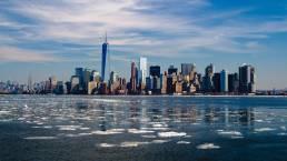 cure for hiv, new york skyline-, new york city, USA