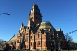 Memorial Hall, Harvard University USA